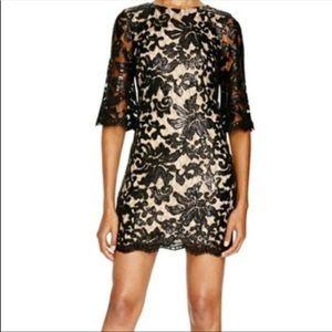 Dress the Population Melody black lace dress Med